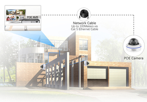 Image 2 - MISECU 4CH 5MP POE NVR Video Security System 2/4PCS 2MP 1080P POE IP Dome Camera Audio Vandal Proof CCTV Camera Surveillance Kit