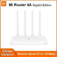 Xiaomi-Repetidor Mi Router Gigabit, antena de alta ganancia, extensor de red, 2.4GHz, 5GHz, WiFi, 1167Mbps, 128MB, DDR3, 4 antenas, 4A