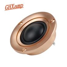 GHXAMP Tweeter haut parleur 25 Core tout en aluminium Audio haut parleur aigu Modification de voiture 4Ohm Dressup haut parleurs maisons de voiture 35W 1 pièces