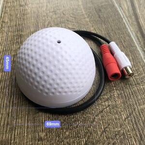 Image 2 - OwlCat אודיו ניטור מיקרופון קול טנדר מיקרופון עבור טלוויזיה במעגל סגור מעקבים אבטחת IP מצלמה נבנה Preamp Wired קול