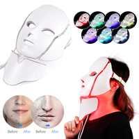 Link VIP Dropshipping frete grátis Levou Luz Terapia Cuidados Com A Pele Máscara Facial 3 Estilo para Escolher 3/7 Cores Máscara Elétrica