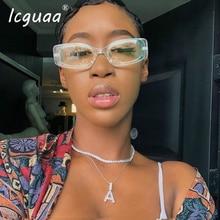 New Fashion Square Sunglasses women /Men 2019 UV400 Brand De