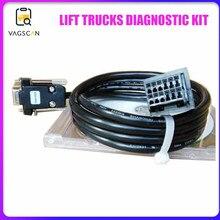 KIT de DIAGNOSTIC de chariots élévateurs pour adaptateur ET COM3 câble de diagnostic à 12 broches ET logiciel de DIAGNOSTIC 3.90