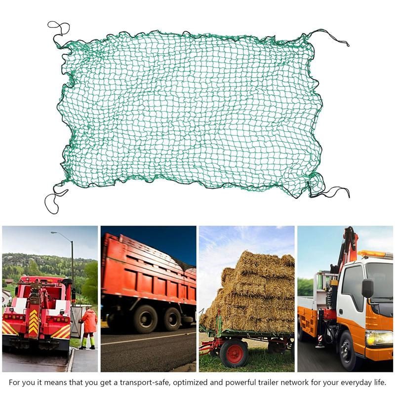 Heavy Cargo Net Truck Trailer Extend Mesh Covers Roof Luggage Nets High Quality Durable Professional Parts Supplies For Trailer