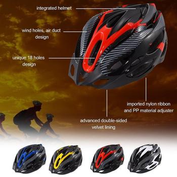OUTAD Integrally Molded Bicycle Helmets Multi-Colors Unsex Bike Helmet Adjustable Head Circumference Mountain Cycling Helmet batfox 2017 cycling helmet men woman road bicycle protection helmet integrally molded safty mountain mtb bike helmets