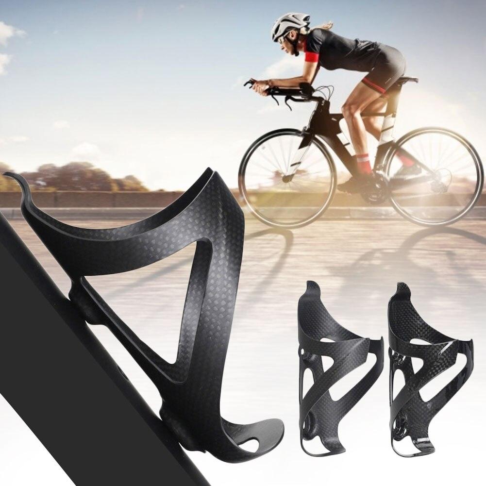 Carbon Fiber Bicycle Bottle Holder MTB Road Bike Water Bottles Cage