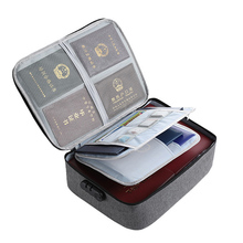 Storage-Bag Travel with Lock Waterproof for DJA88 Files Large-Capacity Double/three-Layer
