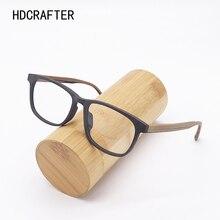 Hdcrafter処方メガネフレーム男性と女性の木製ファッションレトロ光学眼鏡眼鏡メガネフレーム眼鏡