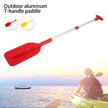 1Pc Kayak Raft Telescopic Paddle Portable Collapsible Adjustable Aluminum Alloy Oar Safety Boat Accessories Kayak Paddle