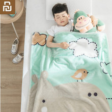 Nova youpin como living crianças nuvem cobertor macio como uma nuvem de pele-amigável quente e respirável
