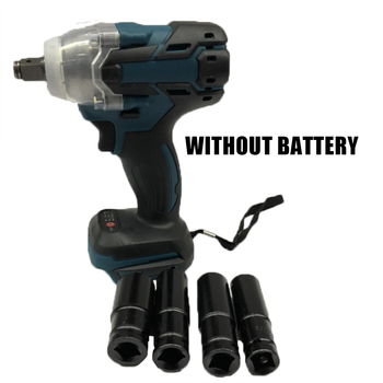 Rechargeable Electric Impact Wrench Socket Wireless Torque For Makita DTW285Z