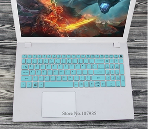 15.6 inch Silicone keyboard cover Protector for Acer Aspire E15 E 15 E5-576 E5576 V3 V15 E5-553G/575G / Aspire 3 5 7 Series(China)