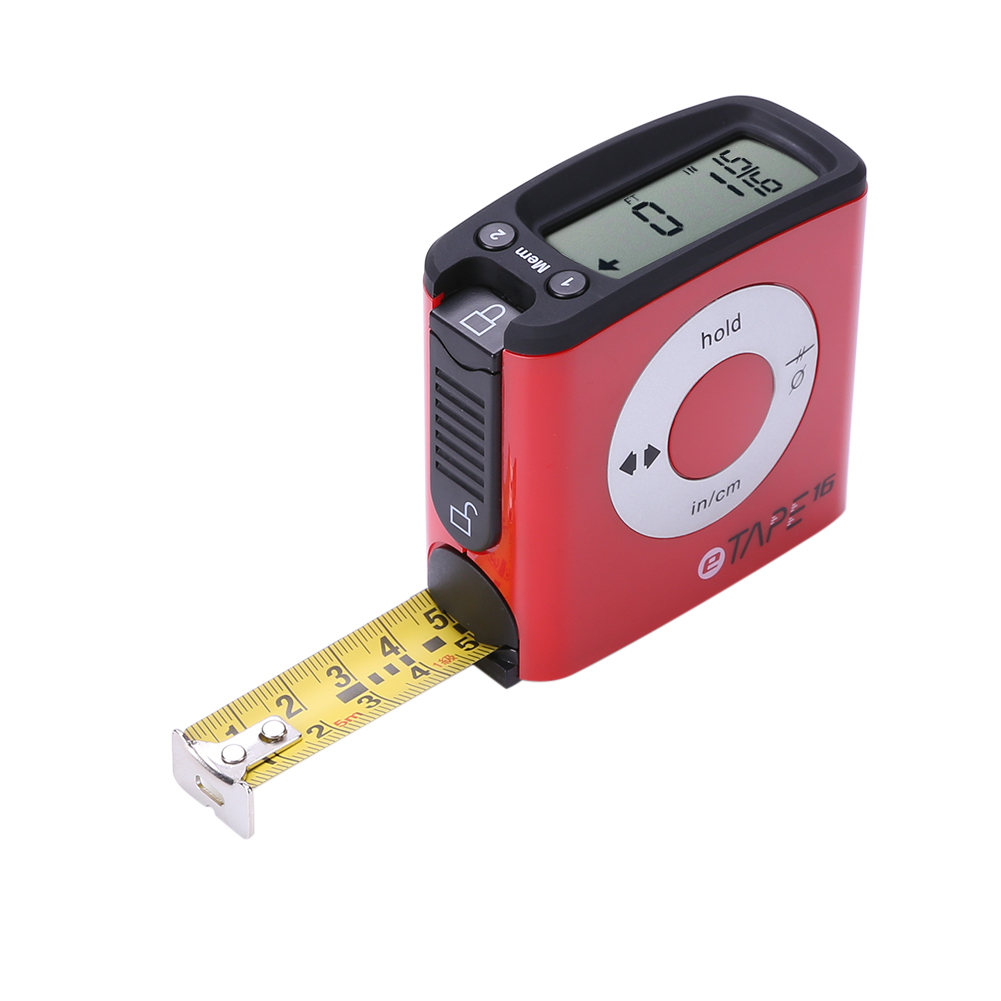 5m Stainless Steel LCD Digital Tape Measure Circumferences Measuring Tape High Presion Digital Tape Measuring Ruler