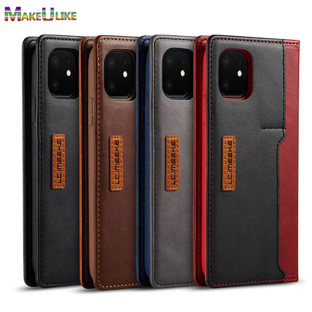 Book Case For iPhone 12 11 Pro Max 12 Mini Case Leaher Flip Case For iPhone X XS XR 12Pro 11Pro Max 6 6S 7 8 Plus SE 2020 Cover