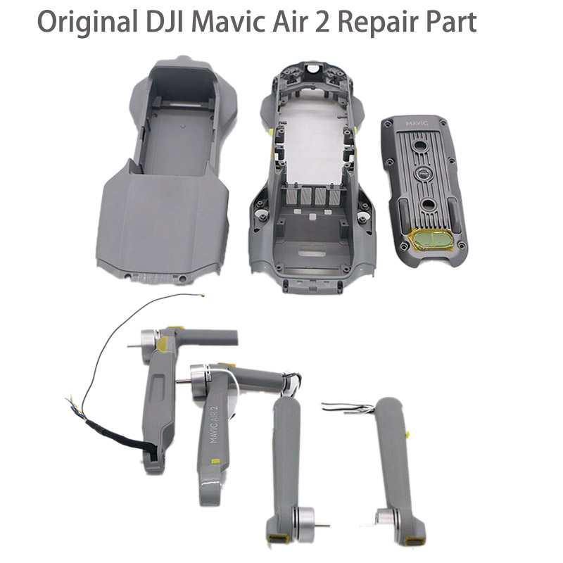 IN STOCK Original DJI Mavic Air 2 Front Arm Rear Arm Upper Middle Bottom Shell Body Cover for DJI Mavic Air 2 Drone Repair Parts