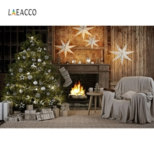 Laeacco Party Portrait Merry Christmas Photography Backgrounds Baby Fireplace Carpet Photographic Backdrops For Photo Studio polyester merry christmas room gifts photography backdrops for party photo studio portrait backgrounds props s 2626