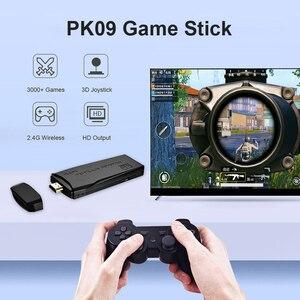 Image 4 - Powkiddy PK 09 Mini TV Console de Jeu Vidéo Intégré 3000/10000 Jeux Joueur Bâton Kit Soutien 1080P Compatibles HDMI Sortie