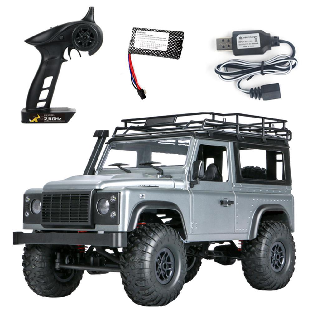 MN 99s 2.4G 1/12 4WD RTR chenille RC voiture tout-terrain Buggy pour Land Rover modèle de véhicule