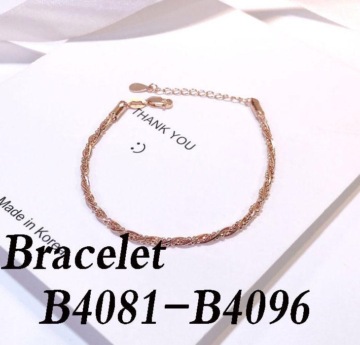 High quality silver 925 Bracelet B4081  B4082  B4083  B4084  B4085  B4086  B4087  B4088  B4089  B4090 B4091 B4092-B4096