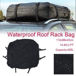 112x86x43cm Cargo bagaż podróżny torba na dach samochodowy torba ładunkowa Car Top Carrier szyna boczna Rack poprzeczka wodoodporny bagaż podróżny pokrowiec Bagażniki i boksy dachowe    -