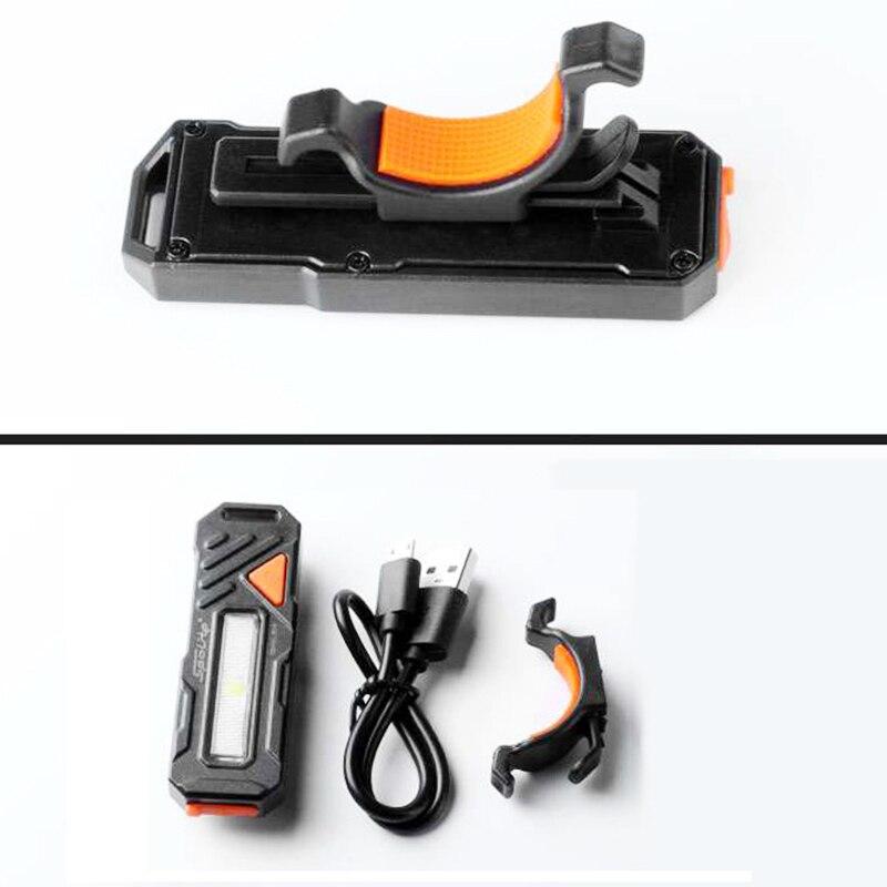 XANES TL06 150LM COB LED 6 Modes Bike Taillight Waterproof USB Charging Warning