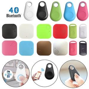 Mini Fashion Bluetooth 4.0 Tracker GPS Anti-lost Pocket Size Smart Tracker For Car Wallet Key Collar Accessories