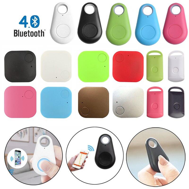 Mini di Modo di Bluetooth 4.0 GPS Tracker Anti-perso Da tasca Smart Tracker Per Auto Portafoglio Chiave Accessori Collare