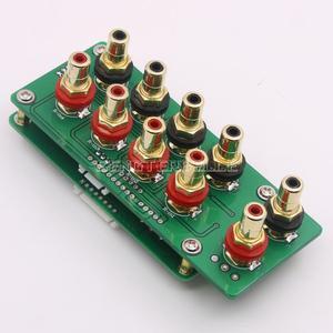 Image 5 - 組み立て 128 ステップリレーリモートボリュームコントロールボード hifi プリアンプボード純粋な抵抗シャントボリュームコントローラ