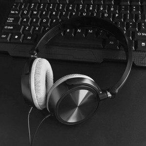 Image 5 - 新しいステレオ低音ヘッドフォンとマイクをキャンセルする低音サウンドハイファイ音楽イヤホンソニーiphone xiaomi pc