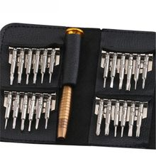 цена на Multifunctional precision 25 in 1 Screwdriver Set Repairing Opening Repair Tool  For Phones Tablet PC