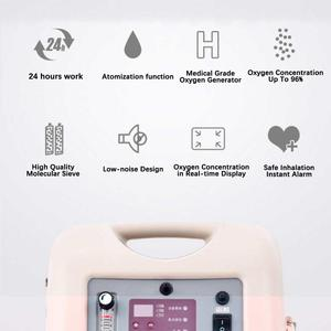 Image 3 - china Household /medical oxygen generator airsep continuous flow portable 5L oxygen concentrator