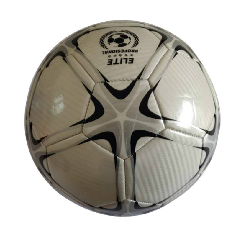 Machine Stitching Football No. 5 PU/PVC Material High Elasticity Explosion Proof Soft Soccer Ball Training Equipment