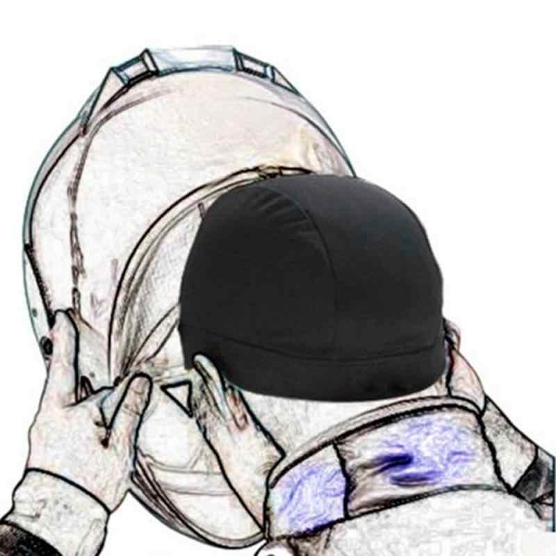 Nowy silnik kask wewnętrzna czapka kapelusz szybkoschnący oddychający kapelusz czapka z motywem wyścigów pod czapką czapka na kask części odprowadzanie wilgoci zima