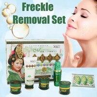 Spot Removing Blemish Whitening Cream 7pcs/ Set Free Shipping Whitening Rejuvenation Blemish Cosmetics Removing Cream Set