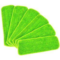Nowość 6 sztuk odsłonić mopa do czyszczenia mokrej podkładki do wszystkich mopów i mopów do prania w Mopy od Dom i ogród na
