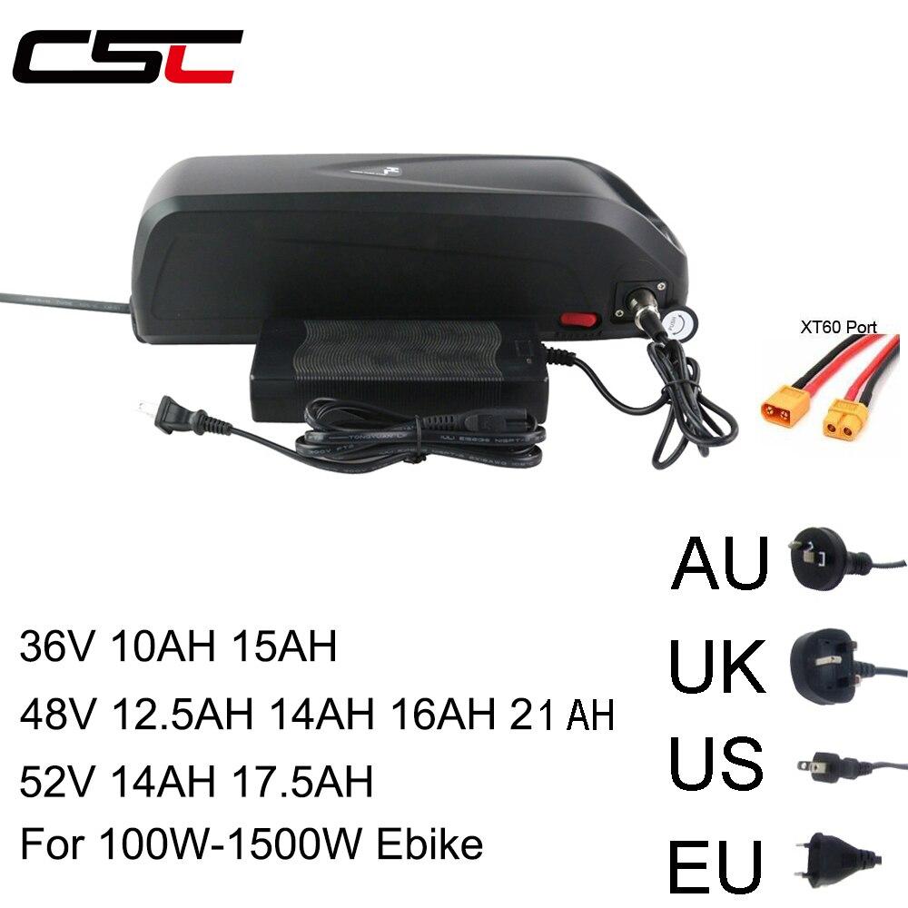 Электрический велосипед 36 В 48 В 52 В Батарея 10AH 15AH 12.5AH 17.5AH 21AH 18650 SANYO Samsung Cell Литиевый USB для 500 1500 Вт Ebike kit|Батарея для электровелосипедов|   | АлиЭкспресс