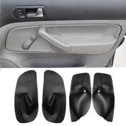 Capa de couro para apoio de braço, para vw golf 4 mk4 jetta bora 98-2005, microfibra, controle manual da janela guarnição protetora