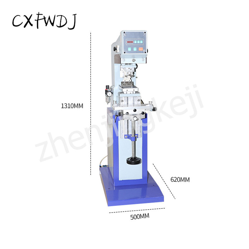 SYD-125-100 Ink Pneumatic Pad Printing Machine Pneumatic Production Date Coding Machine Inkjet Printer Printing Machine