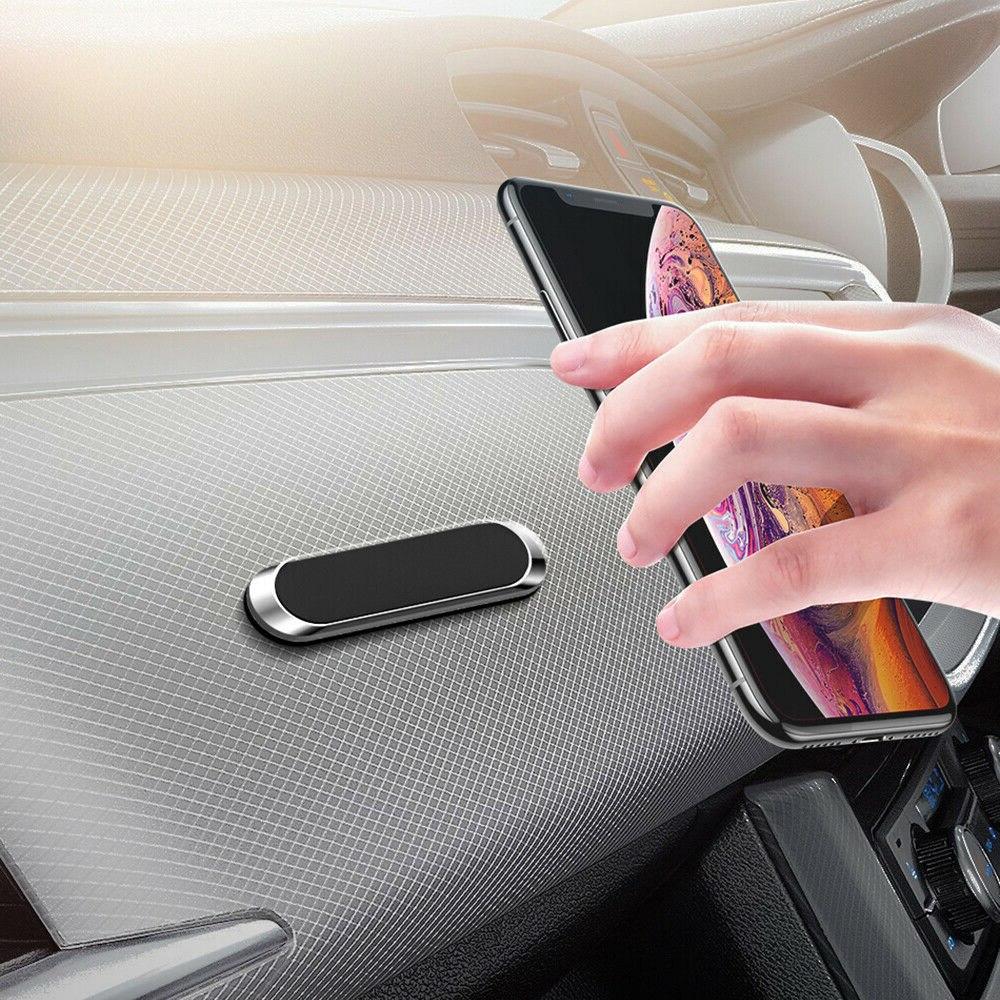 Support de téléphone magnétique pour voiture Nano Note collante Support magnétique en métal tableau de bord prise dair Support Navigation