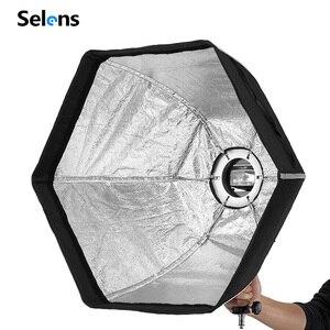 Image 2 - Selens Fotografische Zachte Doos 50 Cm Hexagon Softbox Met L Vorm Adapter Ring Photo Studio Accessoires