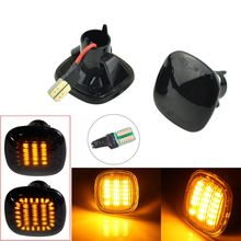 For Skoda Fabia Octavia Mk1 Mk2 Roomster Rapid NH3 LED Dynamic Turn Signal Side Marker Light Repeater Lamp Sequential Indicator
