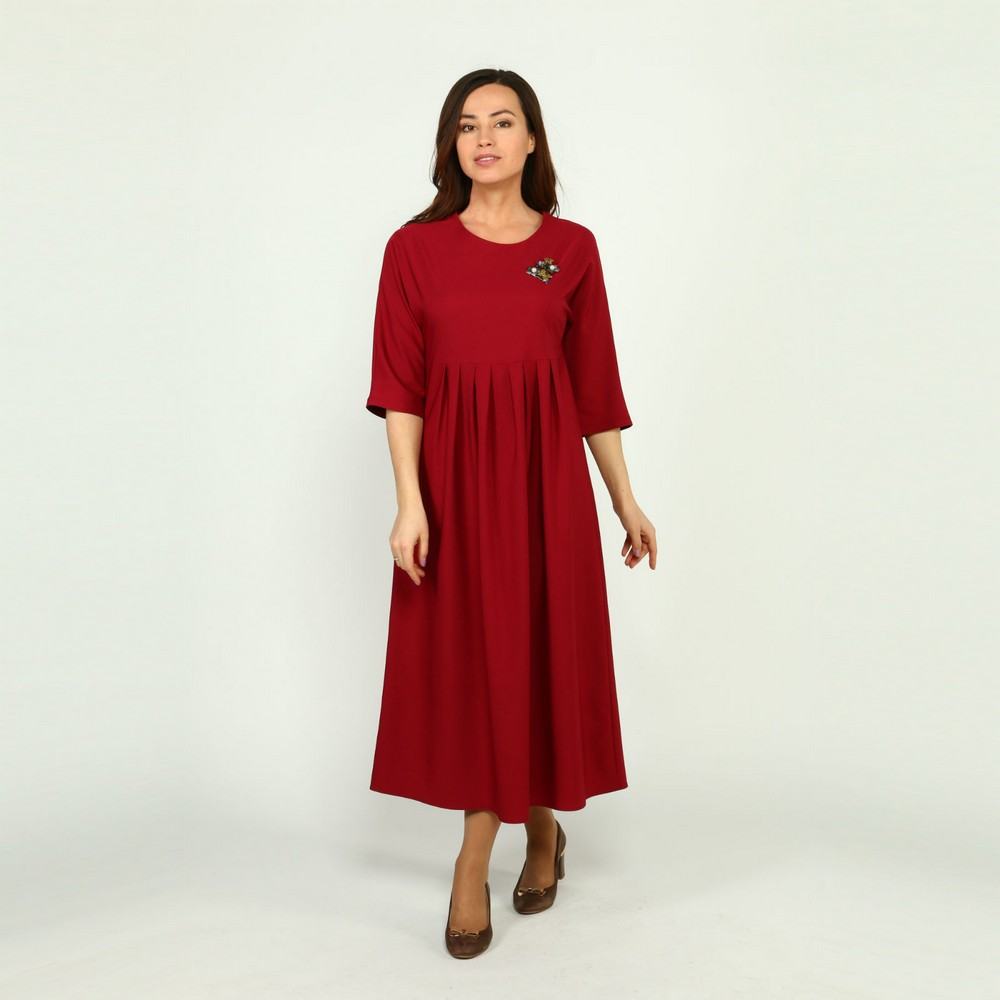 Dresses Frida 33798 women sundress large size chiffon velvet velour lace red with a low waistline Maxi and MIDI female plus size high low lace up skirted coat