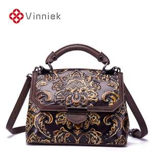 Image 1 - Bolsa feminina de couro legítimo, nova bolsa feminina modelo carteiro feita em couro legítimo com alça carteiro e alça de mão