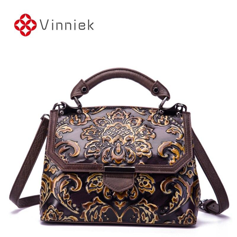 Nouveau cuir véritable sacs à main de luxe femmes sac à bandoulière en relief concepteur Vintage sacs à bandoulière doux dames sac de messager grand