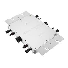 Drahtlose WVC-1200W 230V Solar Inverter MPPT Micro Grid Inverter Linie Filter Frequenz Wasserdicht