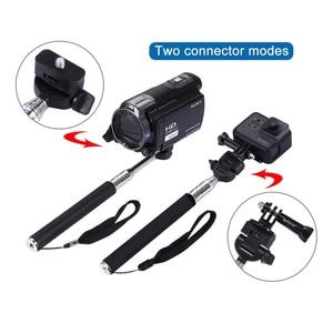 Image 3 - MountDog Selfie Stick Monopod สำหรับ GoPro Hero7 6 5 4 3 SJCAM Yi 4 K Action Action กล้องขาตั้งกล้อง GO pro อุปกรณ์เสริม