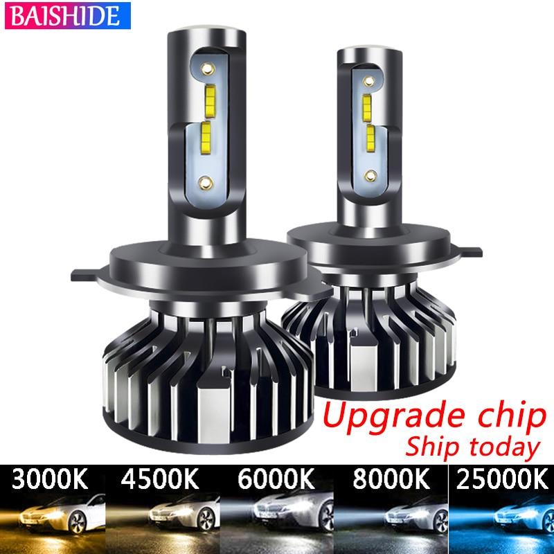 Головка автомобиля светильник 20000LM светодиодный H7 H4 H1 H3 H8 H11 9005 HB3 HB4 9006 110W 4500K 6500K 8000K 9012 Авто противотуманных фар с возможностью креативного св...