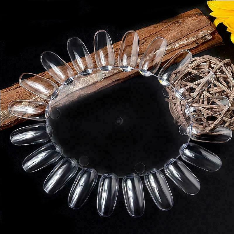 Образцы гель-лака для ногтей, цветная доска, пластиковые инструменты для практики маникюра