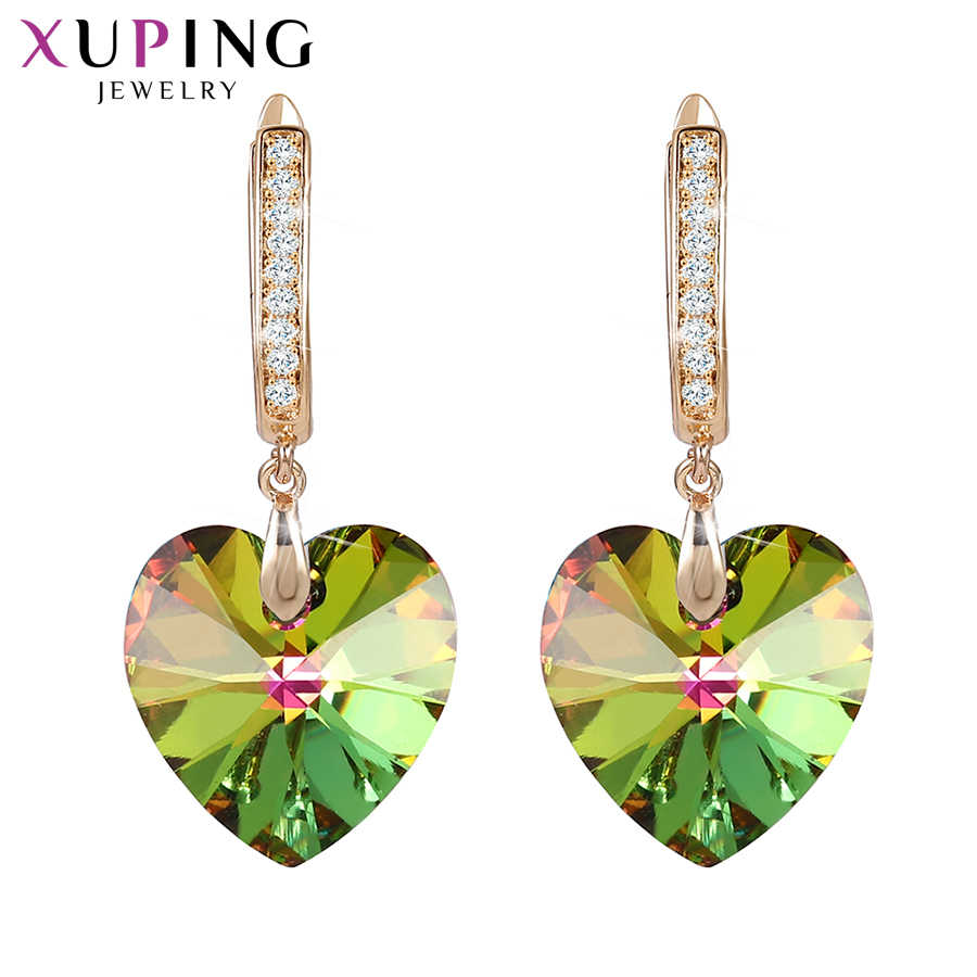 Xuping Heart Shaped Earings fashion jewelry Crystals from Swarovski  Valentine's Day Exquisite Gift for Women  Girls S149-20509