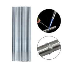 Soldering Supplies Brazing Corrosion Resistant Bars 1.6/2*330mm Low Temperature Easy Melt Aluminum Point Welding Rod Cored Wire